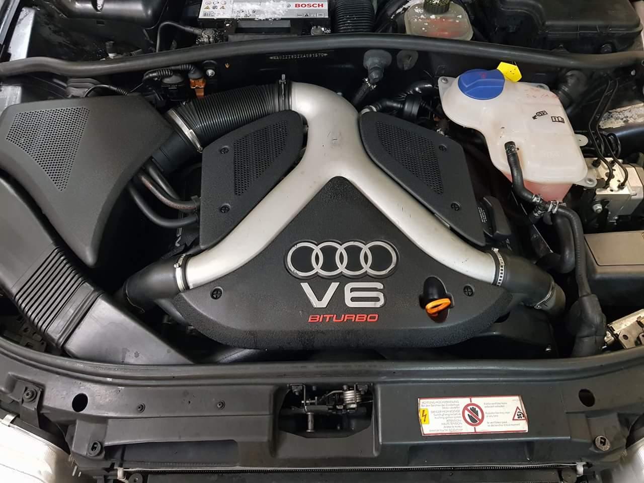 Audi S4 B5 - 2.7 V6 BiTURBO - 265 PS - Stufe 2